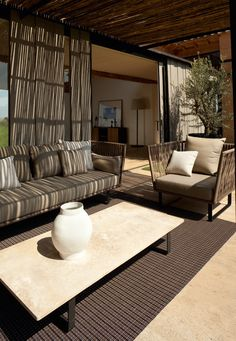 ideas kettal outdoor furniture search for Luxury Furniture, Furniture Design, Furniture Ideas, Garden Furniture, Interior Design Shows, Sectional Furniture, Kettal Furniture, Cozy Patio, Bedroom Furniture Makeover