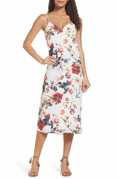 6a706519ea Main Image - NSR Dobby Midi Dress Women s Fashion Dresses
