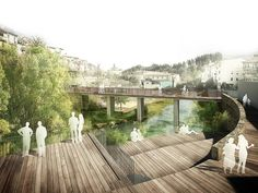 RIVER WALK WITH RECREATIONAL AREAS IN ARBÚCIES (architect) . xcm arquitectura