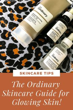 Are you struggling with dull skin and need some glow in your life? Try The Ordinary Skincare Routine for Glowing Skin! It's a cheap and effective routine. #theordinaryskincare #glowingskin #dryskin #skincareproductsthatwork #skincareover50 Skincare For Oily Skin, Moisturizer For Oily Skin, Oily Skin Care, Drugstore Skincare, The Ordinary Skincare Guide, The Ordinary Products, Black Skin Care, Glass Skin, Dull Skin