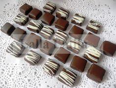 Les secrets de cuisine par Lalla Latifa - Le caramel chocolaté enrobé