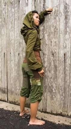 Elven Clothing Gypsy Pants and Patchwork Women Pants for Rave Wear and Festival Clothing Ronja Pant Jedi Outfit, Pixie Outfit, Festival Outfits, Festival Fashion, Dystopian Fashion, Cyberpunk Clothes, Gypsy Pants, Rave Wear, Steampunk Clothing