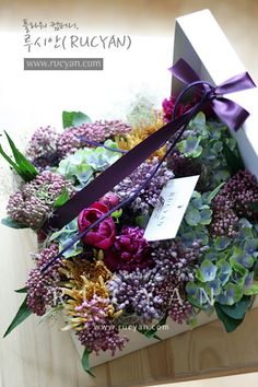 [루시안]전문가반플라워레슨_플라워박스(Flower Box) :: 네이버 블로그