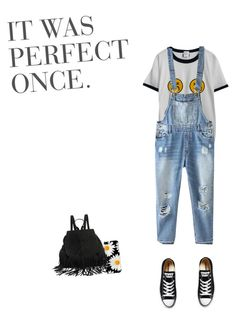 """90's Vibes"" by kelleytis on Polyvore featuring Chicnova Fashion, Relaxfeel and Converse"