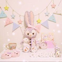 Duffy The Disney Bear, Kawaii, Japanese Culture, Disney Magic, Pastel Colors, Sanrio, Cute Drawings, Wonders Of The World, Girl Birthday