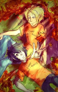 Nico and Will.t ~A whole new world a dazzling place a never new~has