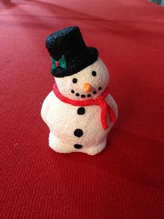 Sneeuwman Bekleed met Foam Clay Bee Do, Christmas Craft Projects, Clay, Craft Ideas, Diy Crafts, Winter, Manualidades, Fimo, Creative