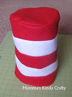How to make a Cat in the Hat hat from felt