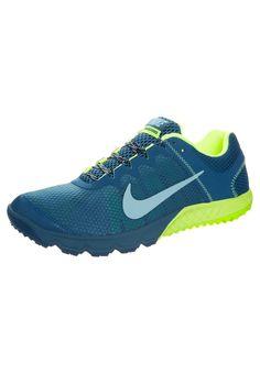 newest 671ba 9d5df Nike Performance ZOOM WILDHORSE - Laufschuh Trail - green abyss blue -  Zalando.de