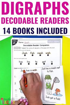 Are you looking for the PERFECT decodable blends readers?? Here they are! These no prep, fold-and-go decodable readers use only the targeted consonant digraphs words and sight words in each reader. They're perfect for beginning readers because they are printable, require no prep, and include pre-reading and post-reading activities. No worries about germ-sharing here! Every student can have their own decodable reader and extension activities – with limited paper on your end!