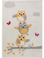 Kinderteppich Fröhliche Eule Beige Carpet, Kids Rugs, Design, Home Decor, Children, Fishing Line, Searching, Atelier, Owls