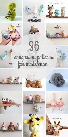 Amigurumi Patterns For Madelenon-