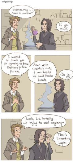 Remus lupin and severus snape part 1 slytherin harry potter, harry potter comics, harry Art Harry Potter, Harry Potter Comics, Slytherin Harry Potter, Harry Potter Anime, Harry Potter Facts, Harry Potter Universal, Harry Potter Characters, Ravenclaw, Drarry