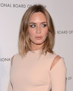 The Best Anti-Ageing Hairstyles Ever! - Emily Blunt http://primped.ninemsn.com.au/blogs/younger-you/the-best-anti-ageing-hairstyles-ever
