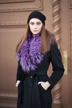 How to look chic while keeping warm this winter, as seen on the chilly streets of Russia: