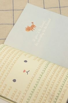 Kawaii note book