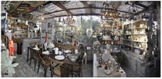 Shop Coté Parc - L'Isle sur la Sorgue Antiquing at its best on Sunday mornings.