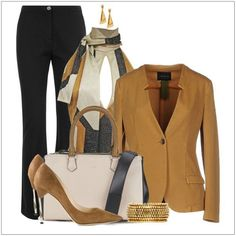 CHATA'S DAILY TIP: Transform a basic suit with a distinct print, or keep it simple – both options work. Opt for a tapered jacket, perfect for every body shape. Add on-trend heels and bling accessories for added glamour. COPY CREDIT: Chata Romano Image Consultant, Rita Els http://chataromano.com/consultant/rita-els/ IMAGE CREDIT: Pinterest #chataromano #imageconsultant #colour #style #fashion