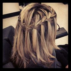 First WaterFall Braid!   I Had My First WaterFall Braid Saturday And Loved It