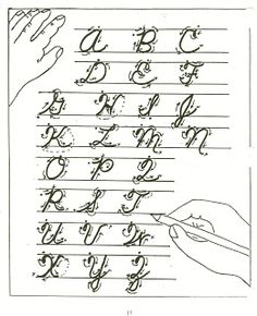 Homeschool Parent: Handwriting Resources Links to printables with cursive and manuscript. Must teach B to write in cursive. Cursive Handwriting Practice, Learning Cursive, Cursive Writing Worksheets, Cursive Alphabet, Calligraphy Alphabet, Letter Worksheets, Printable Worksheets, Uppercase Cursive, Handwriting Sheets
