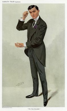 Greetings Card-Edward G. Hemmerde, Vanity Fair, Spy-Photo Greetings Card made in the USA Cthulhu, Illustration Mode, Illustrations, My Fair Lady, Sartorialist, Playwright, Esquire, Politicians, Vanity Fair