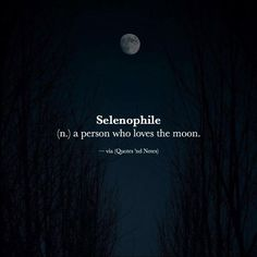 Selenophile (n.) a person who loves the moon. via (http://ift.tt/2ggQ3L7)