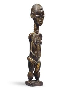 STATUETTE BAOULE Statues, Art Premier, Art Africain, Metal Working, Garden Sculpture, Buddha, Carving, Ivoire, Outdoor Decor
