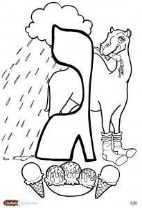 aleph bet coloring pages - photo#14