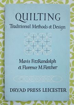 vintage quilting book