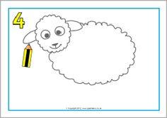 hoe teken je een schaap
