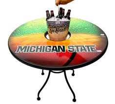 Are you a Michigan State alumni? Support your school with this Spartans table!