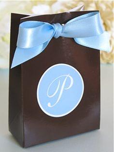 Wedding favor bag.