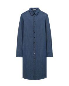 Chambray Shirt Dress - Dresses - Shop Woman - Filippa K