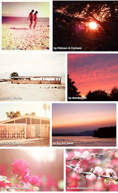 Poppytalk - The beautiful, the decayed and the handmade: Summer Colours Week: Pinks Round-Up!