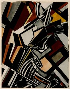havesexwithghosts:  Wyndham Lewis, Composition, 1913