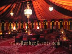 moroccan theme inside gazebo?