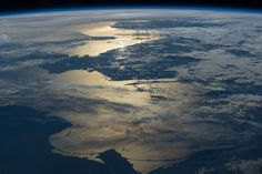 #Baltic #Sea from perspective of international space station #ISS #NASA #picture