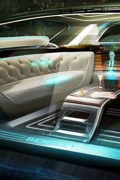 "Bentley ""Future of Luxury"", the 2036 Interior Design Concept"