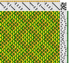 Banner Mountain Textiles: Turned Taqueté - Four Block Profile into an 8 Shaft Draft