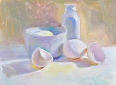 """White Colors 2 light"" by Sharon Savitz"