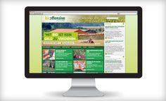 Web Portal für bio-offensive: Auf dem neuen Webportal informiert die bio-offensive über Marktchancen und räumt mit Vorurteilen zum Bio-Landbau auf.