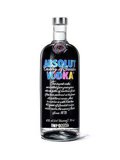 Absolut Vodka Andy Warhol Bottle 2014