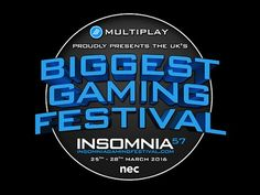 Insomnia 57  Guess who's got a stand there at Easter?