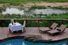 Go on safari to the Kruger Park area during your trip to South Africa and stay at the Jock Safari Lodge - African Travel Gateway Kruger National Park, National Parks, South Africa Holidays, Adventure Activities, Next Holiday, Romantic Places, Outdoor Lounge, Africa Travel, Stunning View