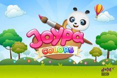 Joypa Colors - Interactive Coloring Game - logo
