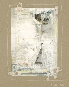Mary Conover - Untitled Study 37 Mixed media collage
