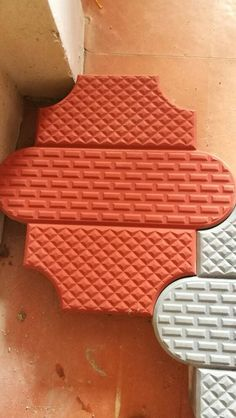 Rubber Industry, Paver Blocks, Paver Designs, Paving Design, Compound Wall, Paver Walkway, Outdoor Tiles, Mould Design, Wall Molding