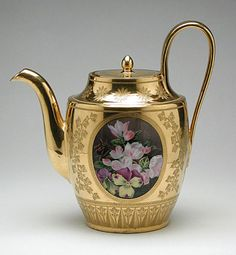 Antique Coffee Pot Sèvres Porcelain Manufactory, 1812-1813  The Los Angeles County Museum of Art