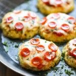 Permalink to: Mini Cauliflower Pizzas