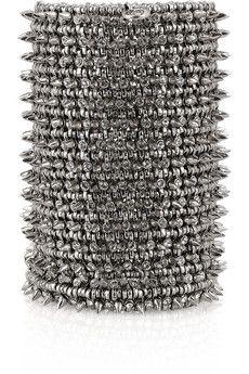 PHILIPPE AUDIBERT  Amelia Swarovski crystal spike cuff